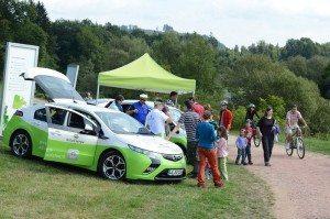 EnergieTour an der Wiese: Elektromobilität