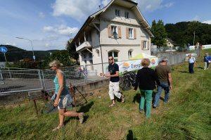 EnergieTour an der Wiese: Wasserkraftwerk Gündenhausen