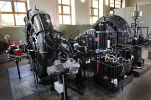 Wasserkraftwerk Mambach_Maschinensaal