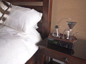 Bedside Barisieur Wecker Kaffeemaschine
