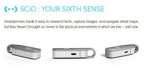 SCiO Molekular Sensor (Foto Kickstarter Screenshot)