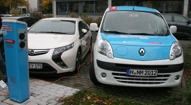 Stromtankstellen und Ladesäulen für das E-Auto finden