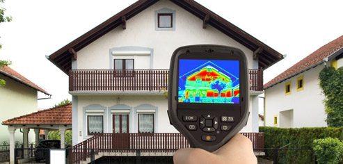 Gebäude-Thermografie – Wärmeverluste aufdecken, Heizkosten einsparen