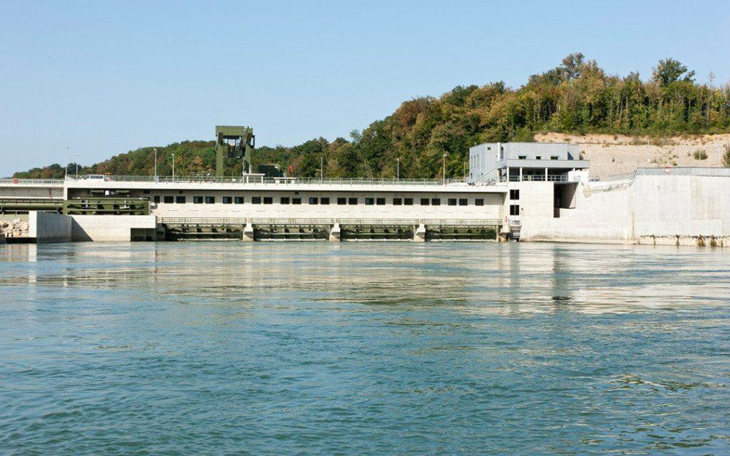 Systemdienstleistungen mit Wasserkraftwerken vom Hochrhein