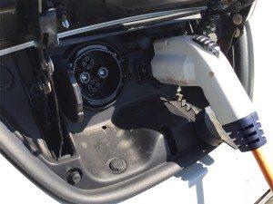 Nissan Leaf: Die Ladeanschlüsse