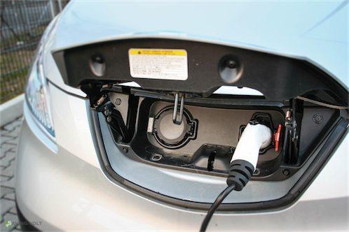 Ladeanschlüsse Nissan e-NV200