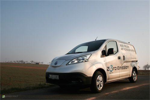 Nissan e-NV200 im Test – elektrischer Kastenwagen für das Gewerbe