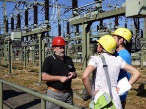 Umspannwerk Energiedienst Andras Merk Schaltgespräch