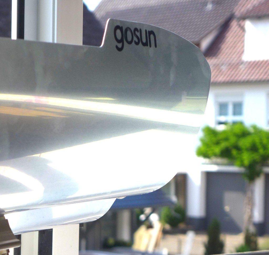 Solargrill oder Solarofen auf Fensterbank oder Fenstersims