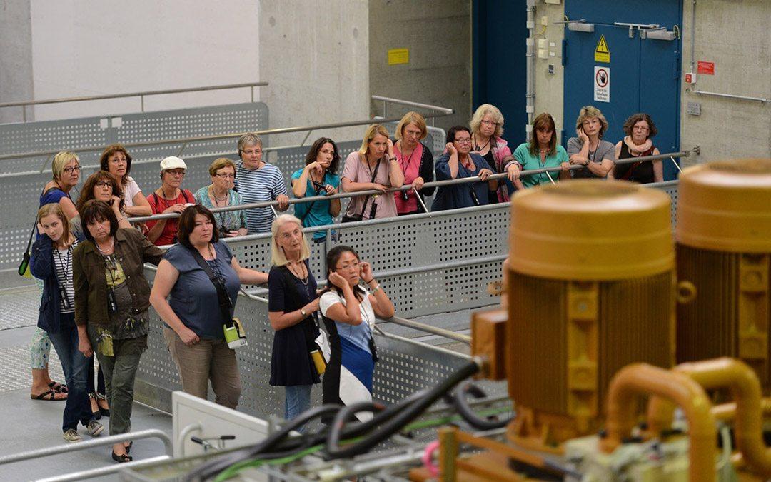 """""""Frauenabend im Wasserkraftwerk"""" – Erlebnis pur!"""