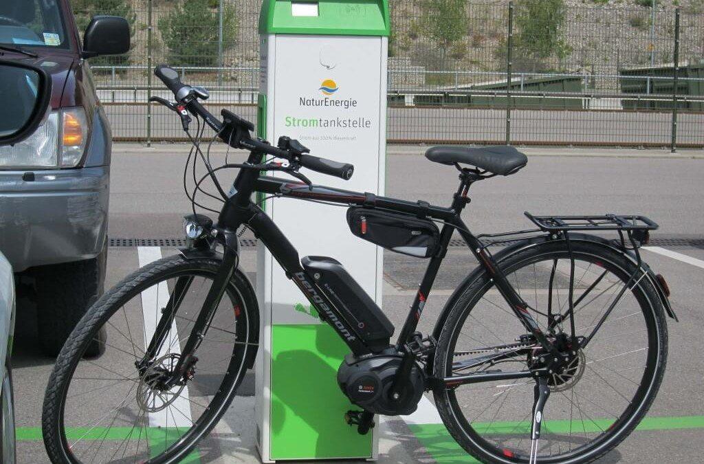 Hightech am Fahrrad – Probefahrt mit einem E-Bike