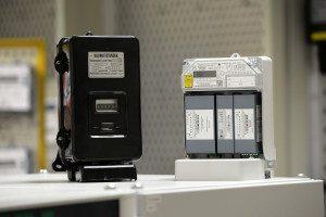 Alter und neuer Stromzähler