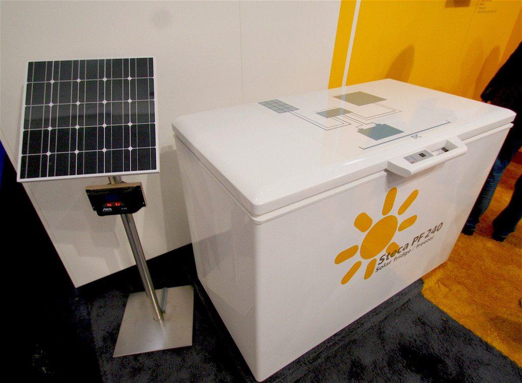 Solar-Kuehlschrank
