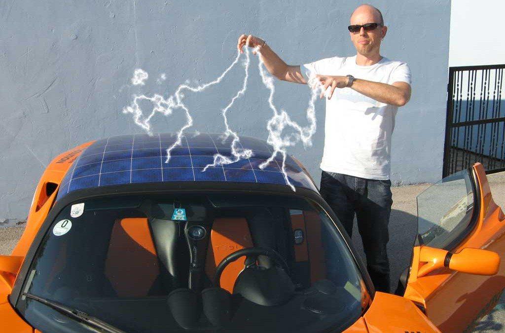 Feuer und Flamme für E-Autos: Tesla-Pionier Manfred Hillinger
