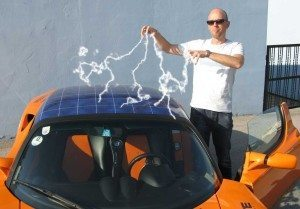 Manfred Hillinger + Tesla Roadster