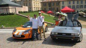 E-Auto-Rallye mit dem Tesla
