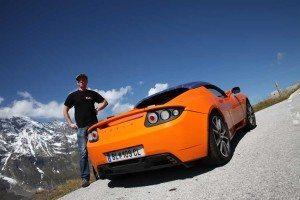 Tesla Roadster Manfred Hillinger