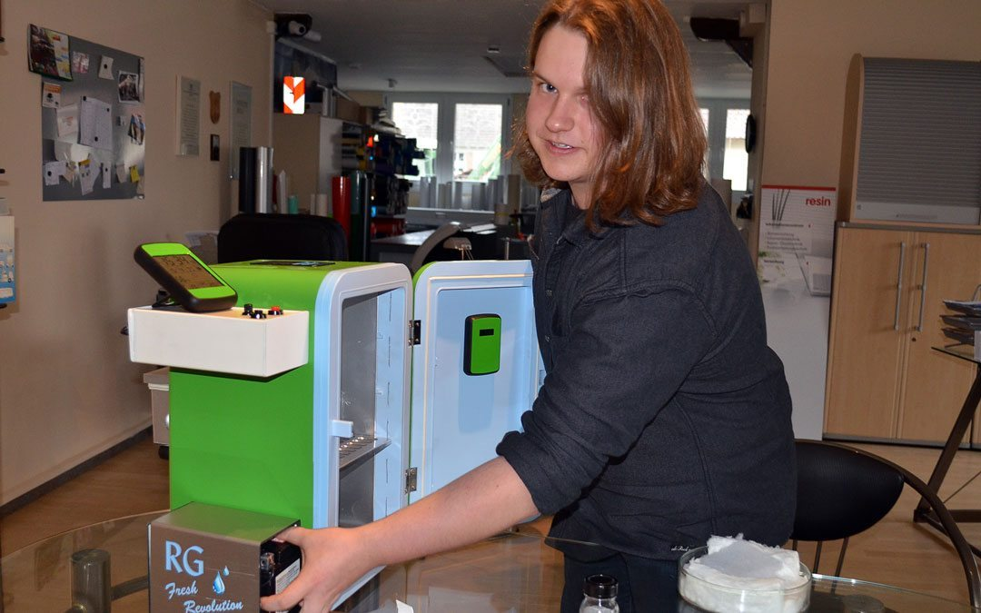 RG Fresh Revolution: Der erste Low-Oxygen-Kühlschrank!