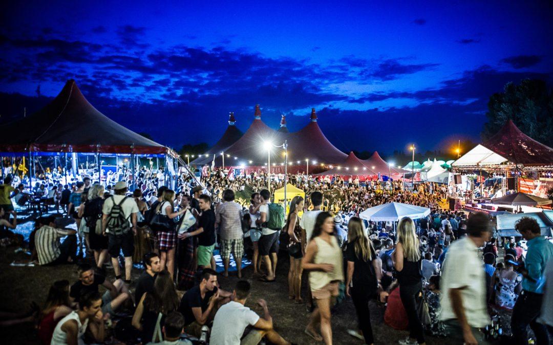 Ökostrom für das Zelt-Musik-Festival ZMF
