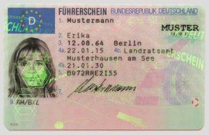 Führerschein Deutschland 2013