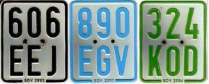Versicherungskennzeichen, auch für Elektro-Spaßmobile