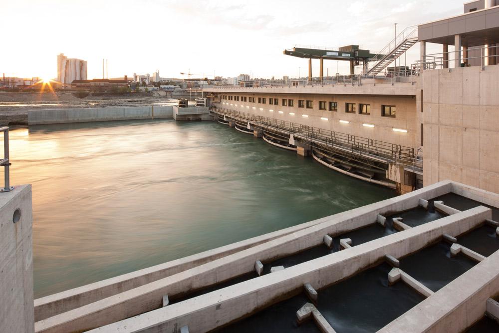 Wasserkraftwerk-Rheinfelden