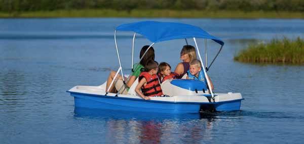 Sundolphin elektrisches Tretboot