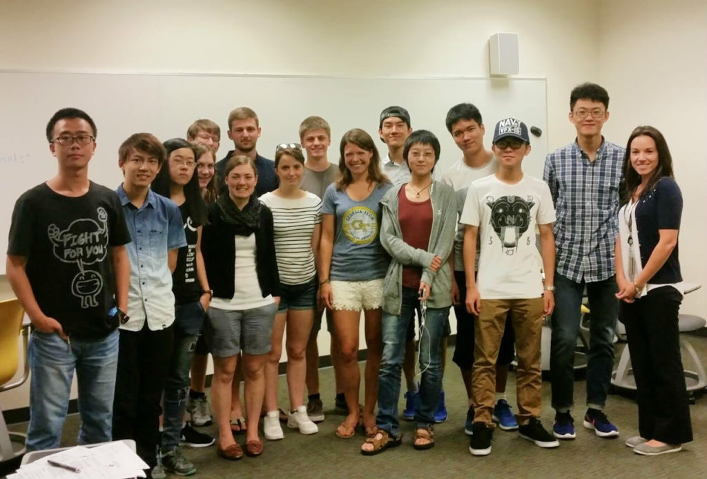Gruppenfoto des Leadership Kurses