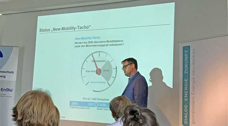 Urban Mobility Talks 2016, Status New-Mobility-Tacho