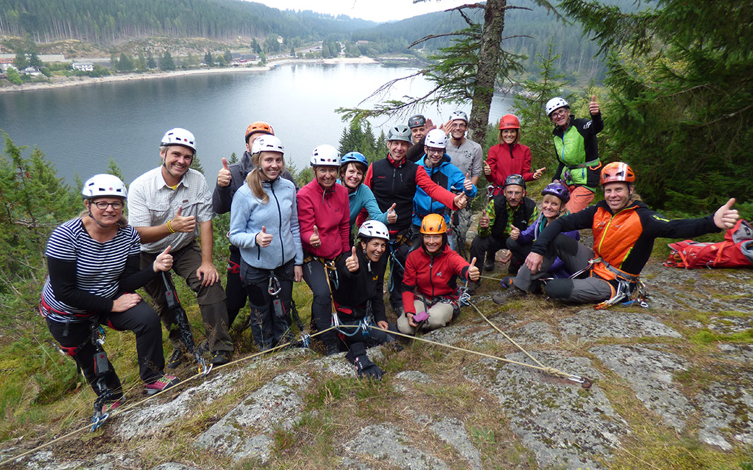 Paddeln, wandern, klettern – ein Erlebnistag mit Robert Jasper