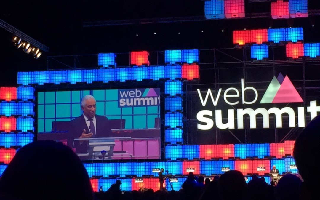 Websummit Lissabon mit innovativen Energie-Startups