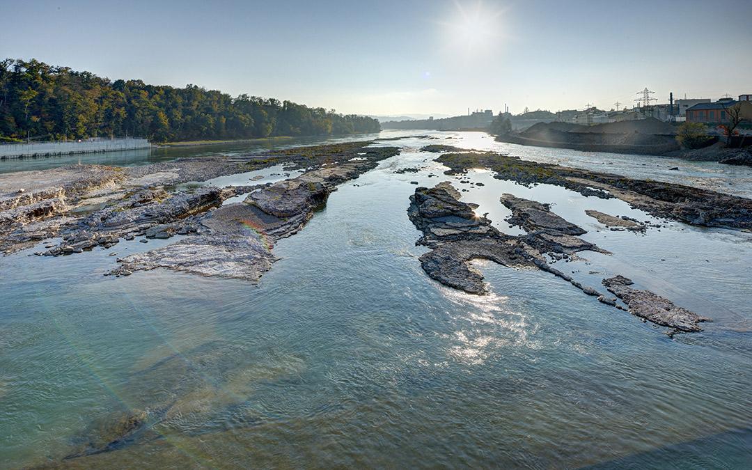 Wie wirkt sich Niedrigwasser auf die Stromproduktion aus?