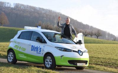 Ein Elektromobil für die Fahrschule