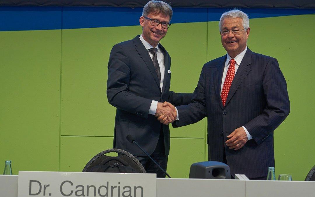 Unser neuer Verwaltungsratspräsident Dr. Dominique D. Candrian im Gespräch