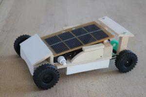 E-Mobil mit Solarzellen