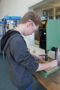Einige Schüler möchten später einen handwerklichen Beruf ergreifen.