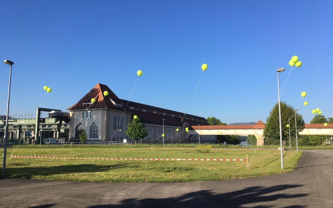 Wasserstoffanlage Whylen Ballons