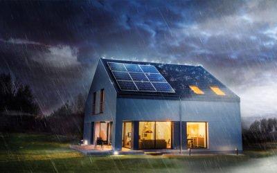 Weil nicht immer die Sonne scheint:NaturEnergie PV Flat