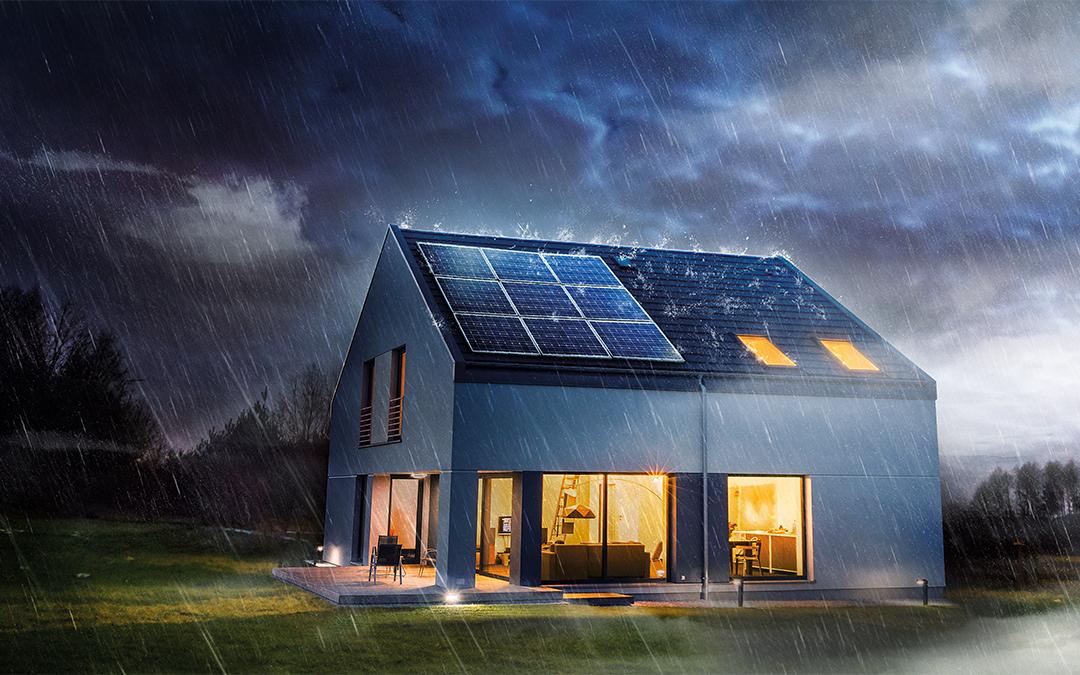 Weil nicht immer die Sonne scheint: NaturEnergie PV Flat