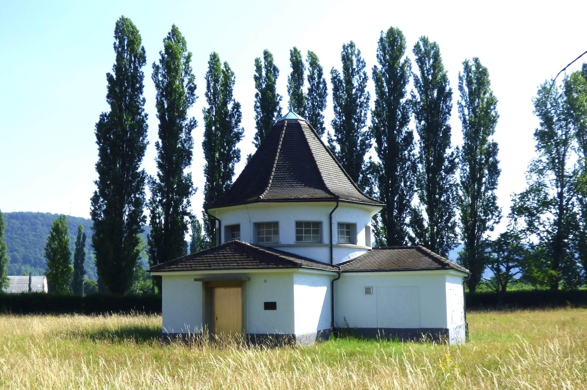 Der Tiefbrunnen 1 – einer von vier Tiefbrunnen in Grenzach-Wyhlen.