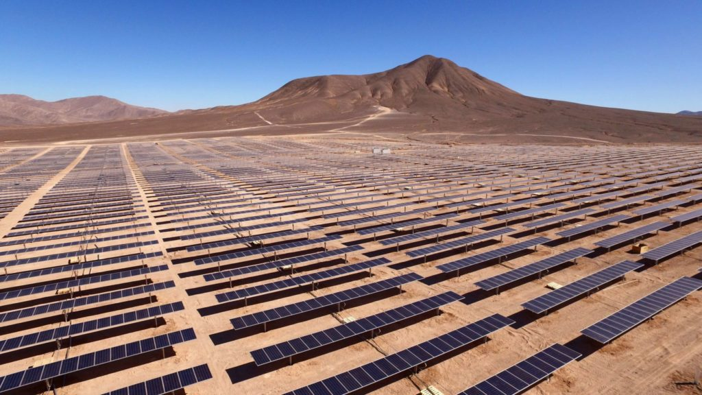 Solaranlage in Chile