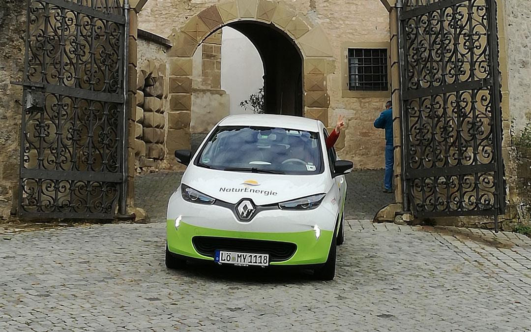 Schwabenurlaub mit dem Elektroauto