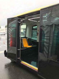 Projekt CUbE (elektrischer autonom fahrender Mini-Bus) von Continental