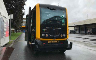 CUbE: Ein Mini-Bus, der autonom fährt und per App gerufen wird