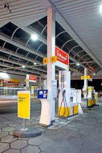 H2 (Wasserstoff) Shell Tankstelle