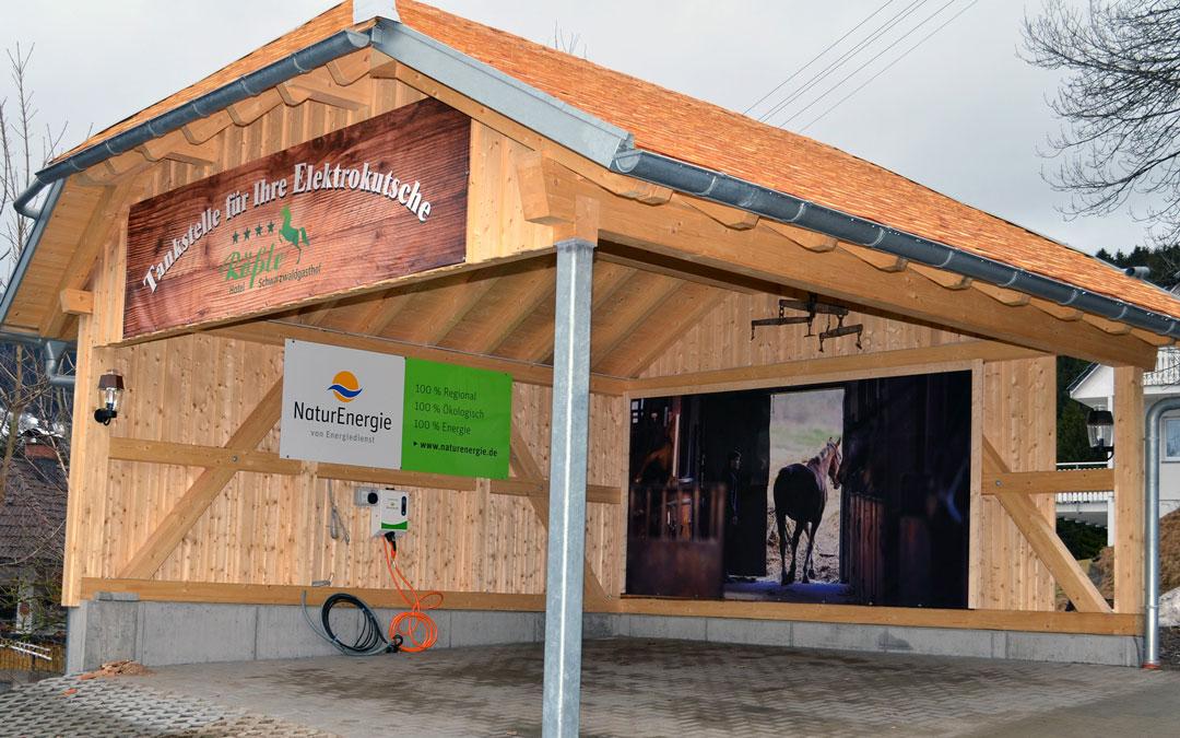 Hotel Schwarzwaldgasthof Rößle: ein Herz für Elektromobilisten