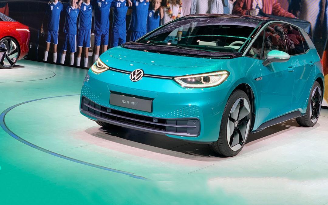 VW päsentiert mit dem ID.3 sein erstes, reines E-Auto.