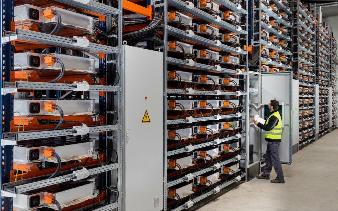 E-Autos: Second Life für Batterien und ihr Recycling
