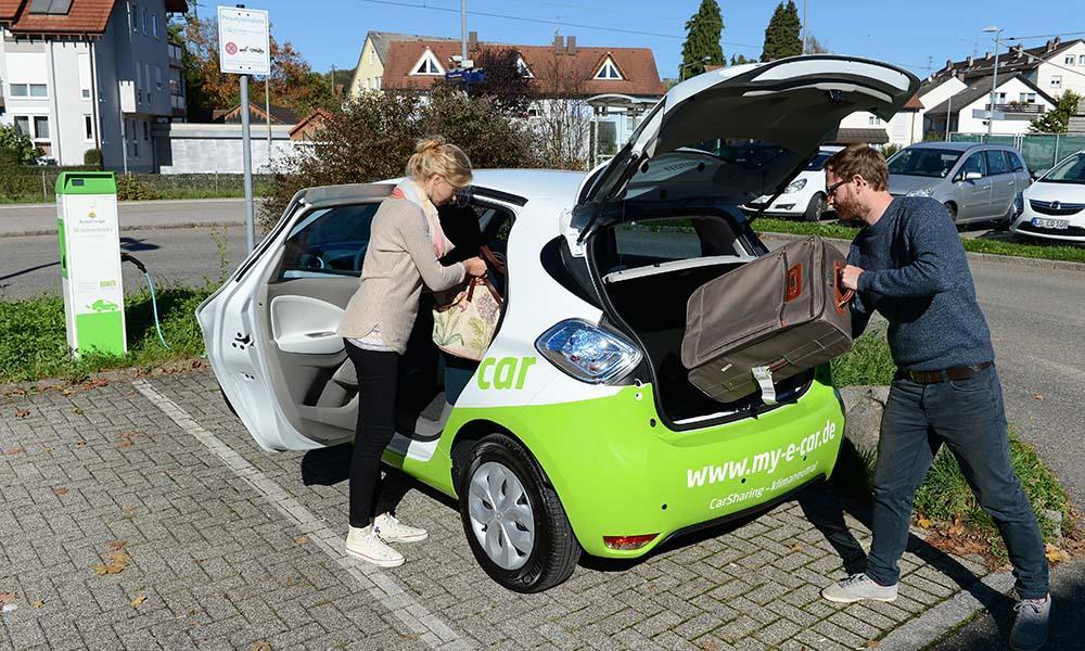 In Südbaden bietet my-e-car CarSharing mit E-Autos. Foto: Juri Junkov