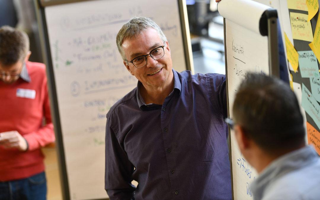 Christoph Umbricht erzählt von seinen Aufgaben als Bereichsleiter Photovoltaik